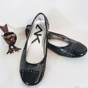 Anne Klein Sport Shoes - Anne Klein Sport Flat Loafers Black Studded